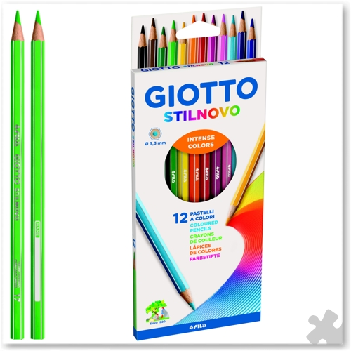 12 Giotto Stilnovo Colouring Pencils